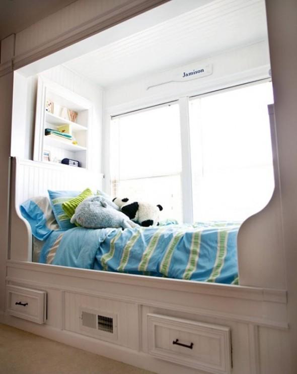 Кровати у окна своими руками 8
