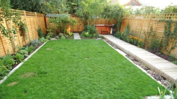 Smal for Small rectangular garden ideas