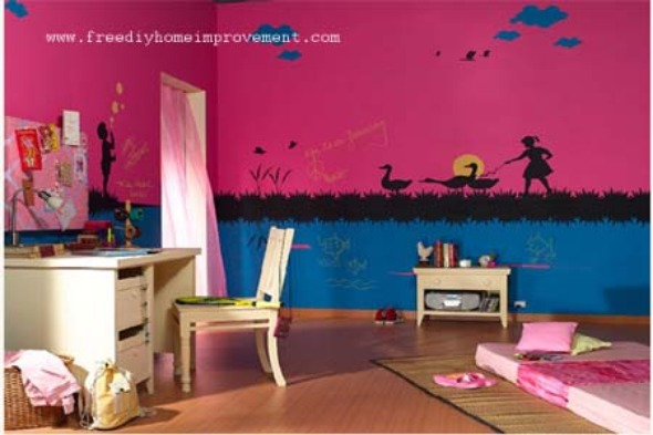 Kids Bedroom Paint Designs